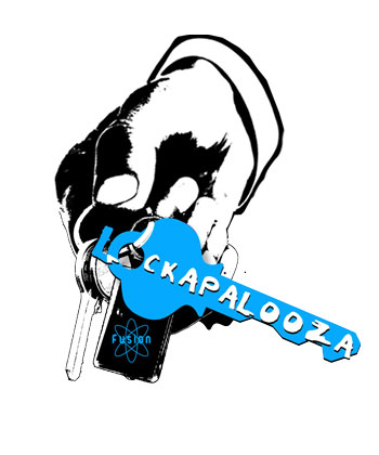 Lockapalooza Logo