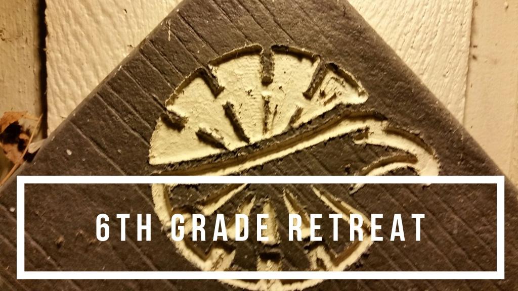 6th Grade Retreat Camp Eagle Wood Logo